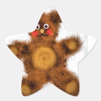 Cute Teddy Bear Toy Children Baby Shower Stickers
