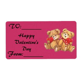Cute Teddy Bear Valentine Couple