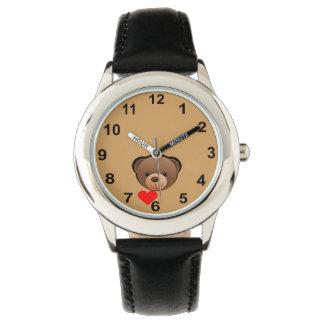 Cute Teddy Bear Watch