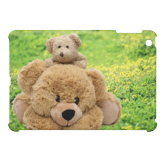 Cute Teddy Bears In A Meadow Case For The iPad Mini