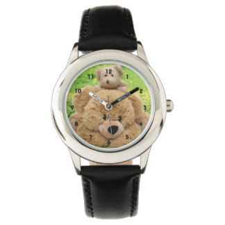 Cute Teddy Bears In A Meadow Watch