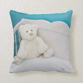 cute teddy printed pillows