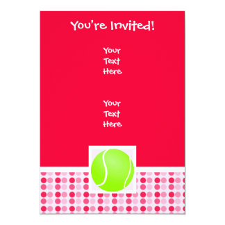 Cute Tennis Ball Card