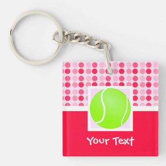 Cute Tennis Ball Key Chain
