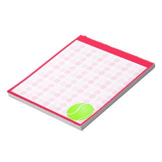 Cute Tennis Ball Notepad