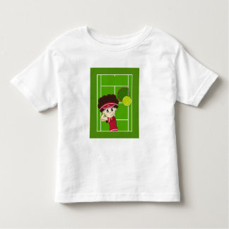 Cute Tennis Boy Tee