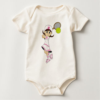 Cute Tennis Girl Creeper