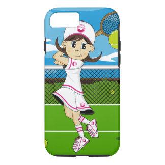 Cute Tennis Girl iPhone 7 case
