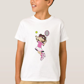 Cute Tennis Girl T-Shirt