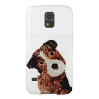 Cute Terrier Dog Art Case For Galaxy S5