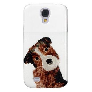 Cute Terrier Dog Art Galaxy S4 Case