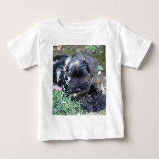 Cute Terrier Dog Baby T-Shirt