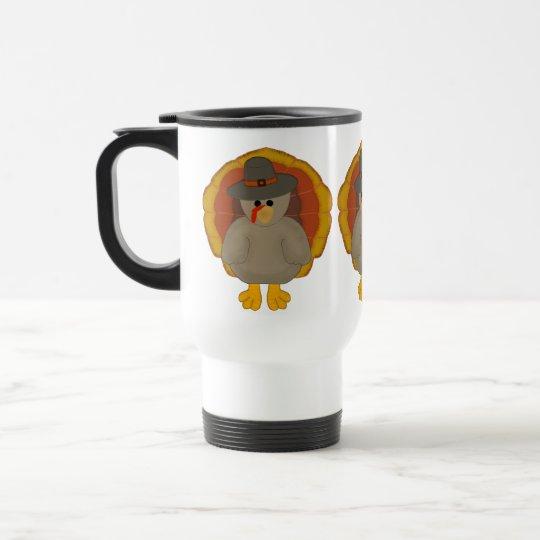 Cute Thanksgiving Travel Mug