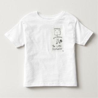 Cute The Little Footballer Original Design Top T Shirts