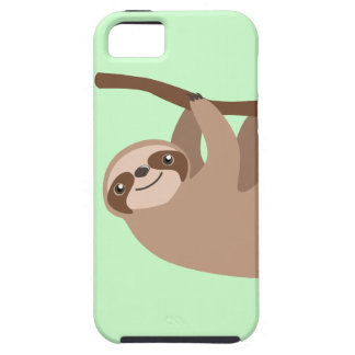 Cute Three-Toed Sloth Case For The iPhone 5