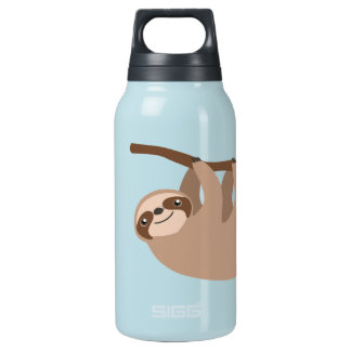 Cute Three-Toed Sloth Insulated Water Bottle