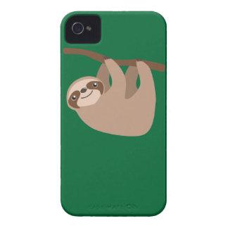 Cute Three-Toed Sloth iPhone 4 Case-Mate Case