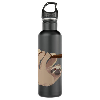 Cute Three-Toed Sloth Liberty Bottle 710 Ml Water Bottle