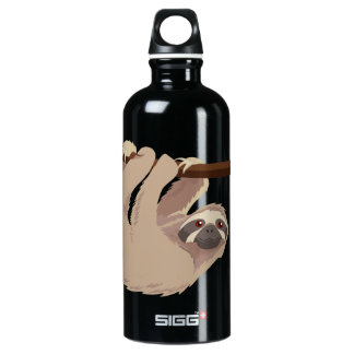 Cute Three-Toed Sloth Liberty Bottle SIGG Traveller 0.6L Water Bottle