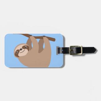 Cute Three-Toed Sloth Luggage Tag