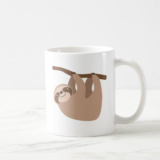 Cute Three-Toed Sloth Mug