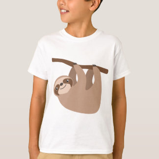 Cute Three-Toed Sloth T-Shirt