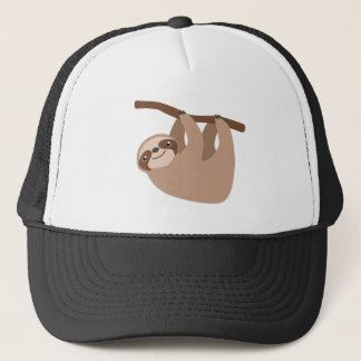 Cute Three-Toed Sloth Trucker Hat