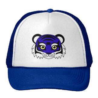 Cute Tiger Blueberry Cap