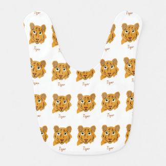 Cute Tiger Design Bib