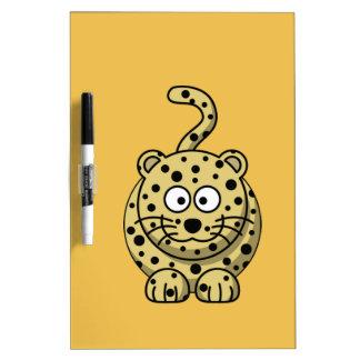 Cute Tiger Dry Erase Board
