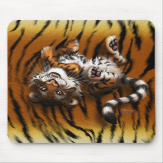 Cute Tiger Mouse Mat