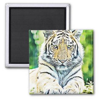 Cute Tiger Refrigerator Magnet