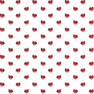 Cute Tiny Valentine Hearts Photo Sculpture Magnet