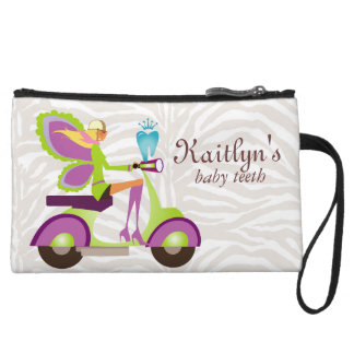 Cute Tooth Fairy Clutch Bag Wristlet