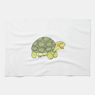 Cute tortoise tea towel