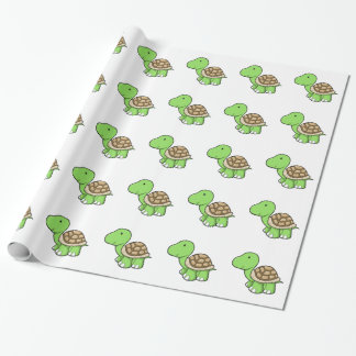 Cute Tortoise Wrapping Paper
