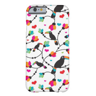 cute toucan bird tropical illustration barely there iPhone 6 case