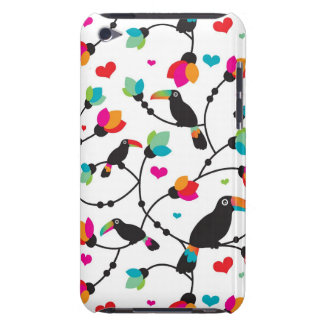 cute toucan bird tropical illustration iPod touch Case-Mate case