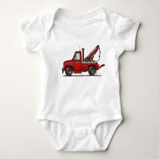 Cute Tow Truck Wrecker Baby Bodysuit