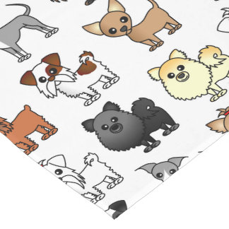Cute Toy Dog Breed Pattern