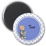 Cute toy teddy design magnet