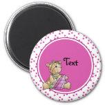 Cute toy teddy design magnets