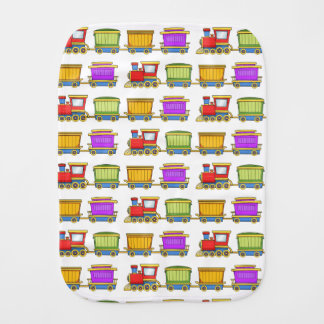 Cute Train Burp Cloth