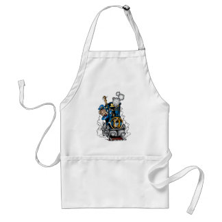 Cute Train Standard Apron