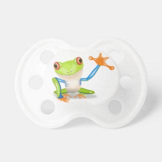 Cute Tree Frog Baby Pacifiers