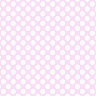Cute Trendy Baby Pink White Polka Dots Pattern Standing Photo Sculpture