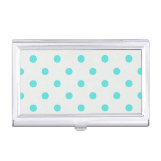 Cute Trendy Polka Dots Business Card Holder