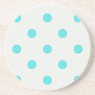 Cute Trendy Polka Dots Coaster