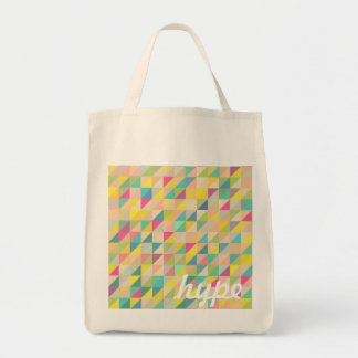 cute trendy triangle pattern bags