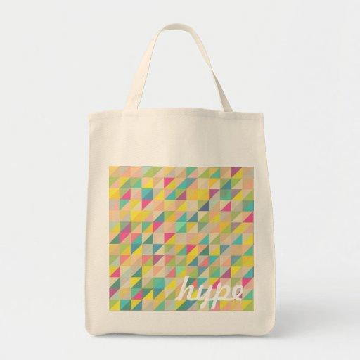 cute trendy triangle pattern bags
